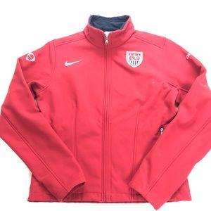 Nike Large Women's USA Soccer Soft Shell Jacket